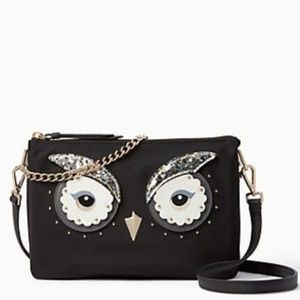 Kate Spade Star Bright Owl Madelyne Crossbody NWT